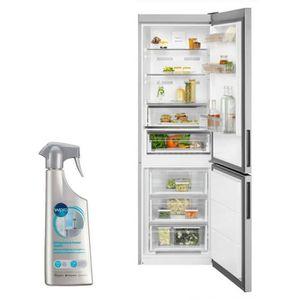 RÉFRIGÉRATEUR CLASSIQUE ELECTROLUX Réfrigérateur frigo combiné inox 324L A