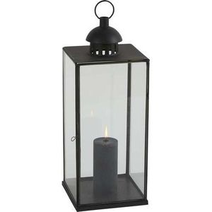 PHOTOPHORE - LANTERNE Lanterne matignon 56cm 56x20x20 Noir
