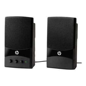 ENCEINTES ORDINATEUR HP 2-piece USB Speakers Haut-parleurs pour PC USB