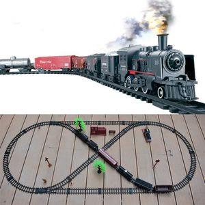VOITURE - CAMION Classique fumer Train Électrique Avec Son Train Ré