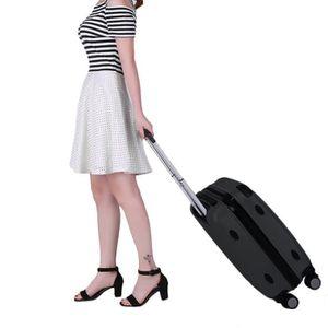 TROLLEY MATERIEL 3pcs valise trousse sac à roulettes avec valise ri