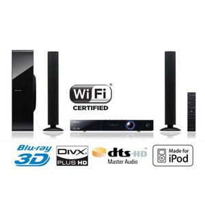 HOME CINEMA PIONEER BCS FS-525 Home Cinéma 2.1 Blu-Ray 3D