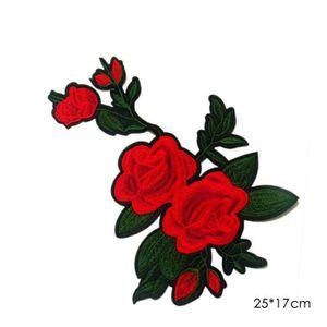 brodé Patch fer sur Sewing Applique Jolie Norvège taille: 2,8x3,8 cm