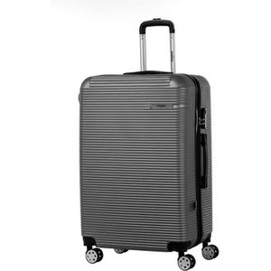 VALISE - BAGAGE SINEQUANONE Valise Trolley ABS Gris Foncé