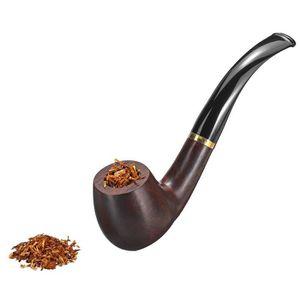 PIPE Ébène En Bois Pipe à Fumer Tuyau Tabac Cigarettes
