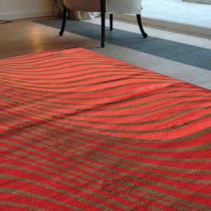 TAPIS Tapis BC ONDULA rouge Tapis Moderne 200 x 290 cm