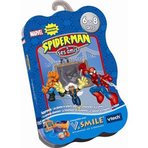 JEU CONSOLE EDUCATIVE Jeu VSmile Vtech - Spiderman 2