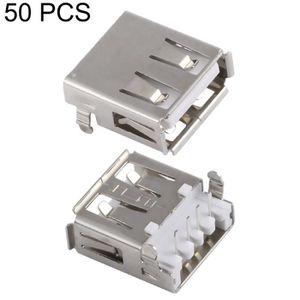 CLÉ USB 50 Pcs Usb 2.0 Af Connecteur De Plaque Lourde Avec