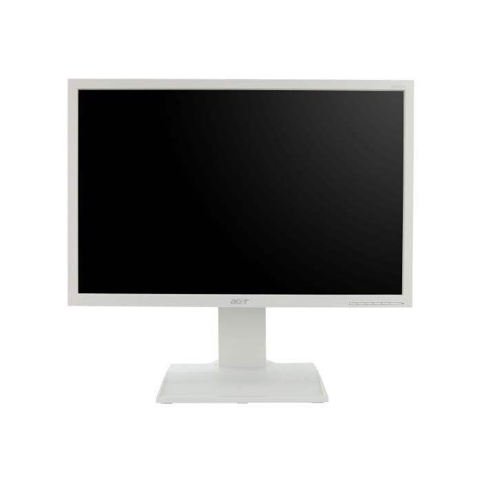Acer B223WL Écran LED 22- 1680 x 1050 250 cd-m² 5 ms DVI-D, VGA haut-parleurs blanc