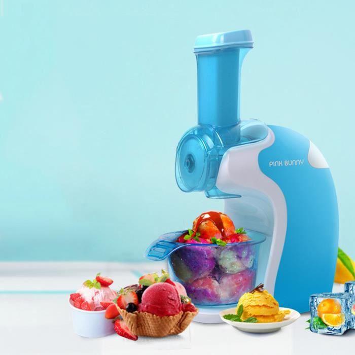 Machine portative de crème glacée aux fruits, machine à crème glacée à la maison, Machine à glace