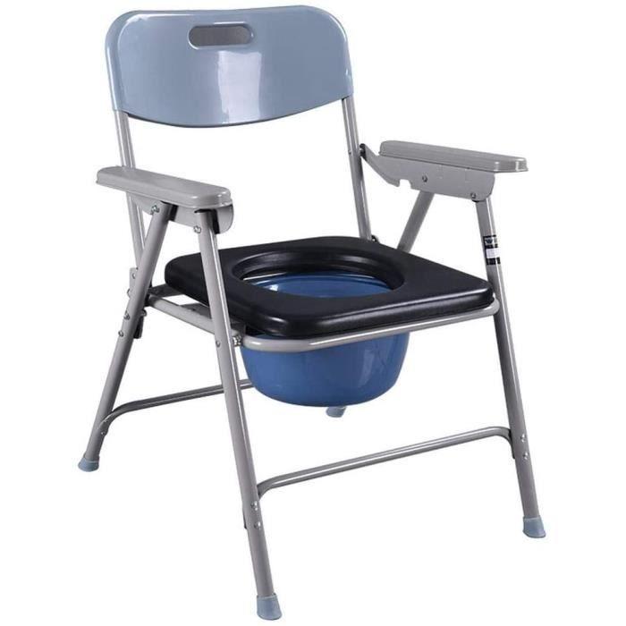 Chaises percées WIXR Toilettes Commode - Maternité Toilette Tabouret Siège De Toilette pour Les Personnes âgées avec Cuv 453581