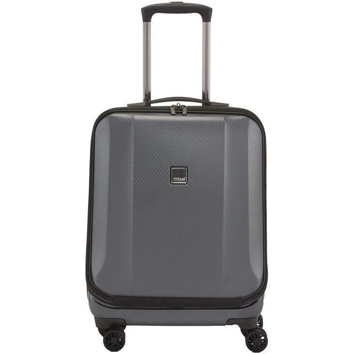 VALISE OU BAGAGE VENDU SEUL Titan Xenon Deluxe Business Mallette 4 roulettes 55 cm compartiment portable146