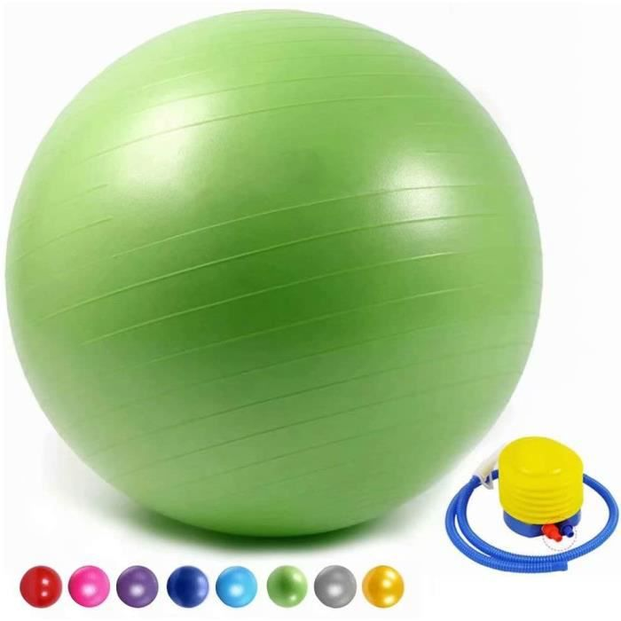 SWISS BALL XIU Gym Ball AntiBurst Ball Suisse Ballon De Yoga Ballon De Fitness avec Pompe Agrave La Main Home Gym Bureau Utilisa495