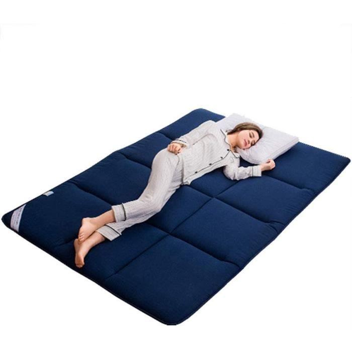 Matelas Pliable IKEA Adulte Thicken Tatami Respirante Confort Portable Matelas futon invit Tapis de Sol Pliable Double Mate77