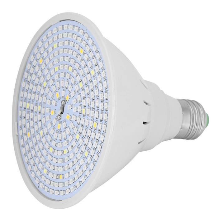 EBTOOLS Lampe de culture 290 LED E27 Ampoule Plante de plus en plus légère Plantes de hangar d'intérieur à spectre complet