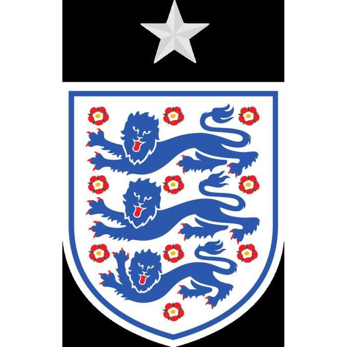 Poster Affiche Blason Angleterre Football Equipe National Embleme Sport 42cm x 66cm