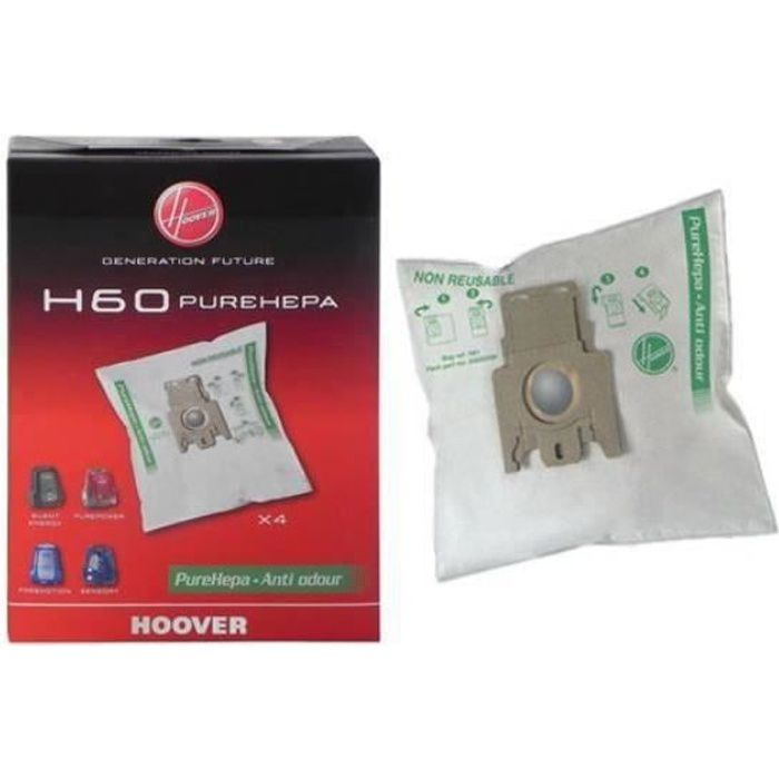4 sacs aspirateur H60 - Hoover - réf. 35600392