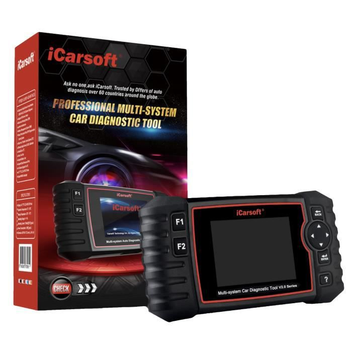 Valise Diagnostic Auto Pro iCarsoft US V2.0 Spécial GM FORD CHRYSLER