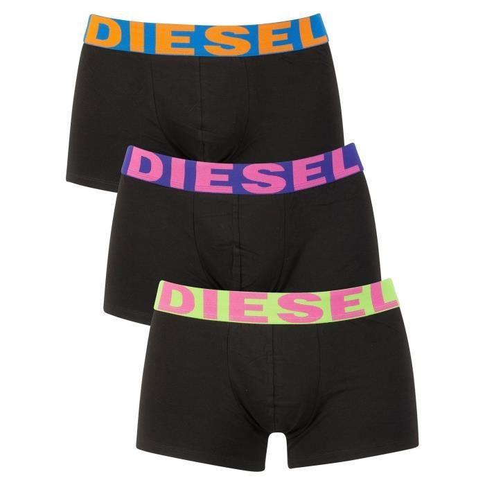 Diesel Homme Paquet de 3 trousses saisonnières Shawn, Noir
