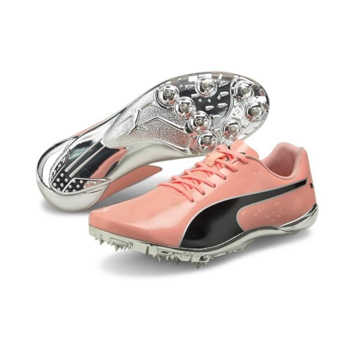 Chaussures de running Puma EvoSpeed Electric 10 - rose/noir/argent - 41