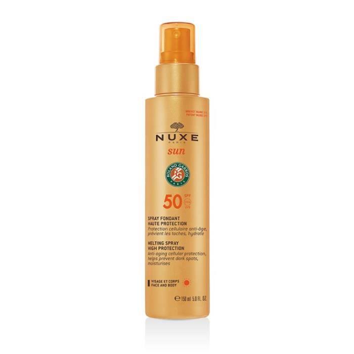 Nuxe Sun Spray Fondant Haute Protection SPF50 - 150ml