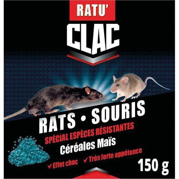 Rat-souris resistant cereale 150g