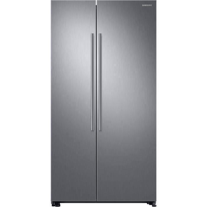 SAMSUNG - RS66N8100S9 - Réfrigérateur Américain - 647 L (411L + 236L) - Froid Ventilé Plus - A+ - L 91,2 x H 178 cm - Inox