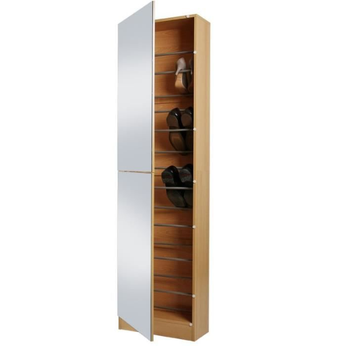 meuble a chaussures miroir maison design. Black Bedroom Furniture Sets. Home Design Ideas