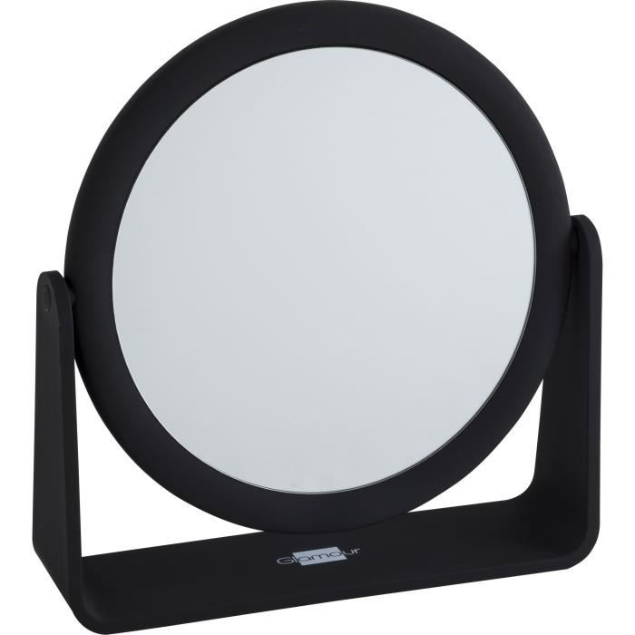 Glamour institut miroir poser rond grand mod le achat for Grand miroir a poser