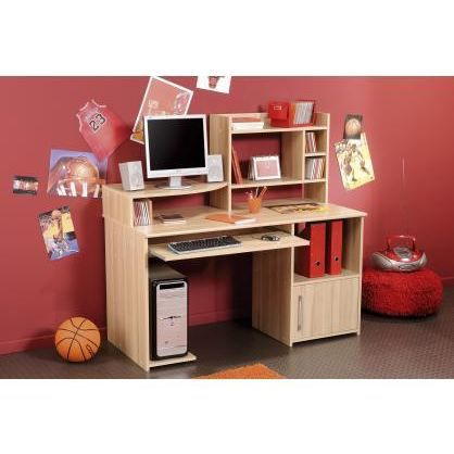 bureau enfant informatique et r hausse matelot achat vente bureau bureau enfant informatique. Black Bedroom Furniture Sets. Home Design Ideas