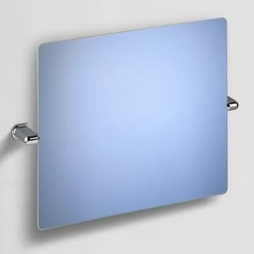 Miroir muralde inclinable fixations abs chrom achat for Attache miroir