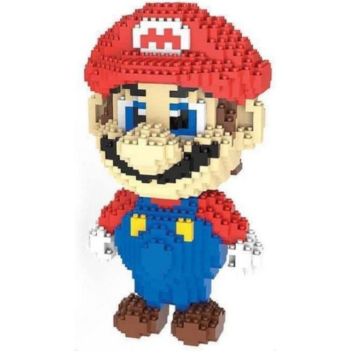 ASSEMBLAGE CONSTRUCTION figurines grande taille diy Super Mario modèles na