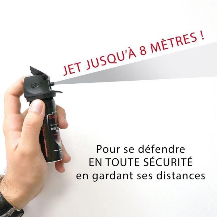 POIVRE AEROSOL DE DEFENSE  GEL POIVRE A JET : 100ML