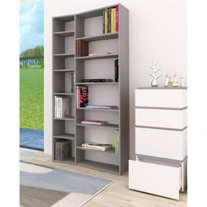 buddy 14 casiers biblioth que tag re design la achat vente biblioth que buddy 14 casiers. Black Bedroom Furniture Sets. Home Design Ideas