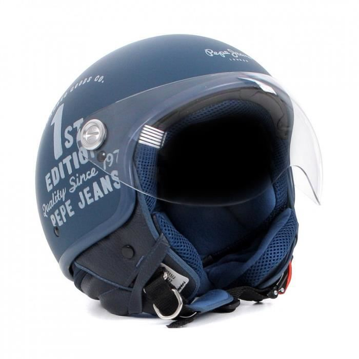 casque jet pepe jeans de la marq achat vente casque. Black Bedroom Furniture Sets. Home Design Ideas