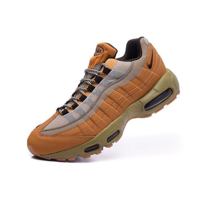 detailed look 320d0 4df5f Nike NIKE AIR MAX 95 Homme Running Basket Chaussure brun
