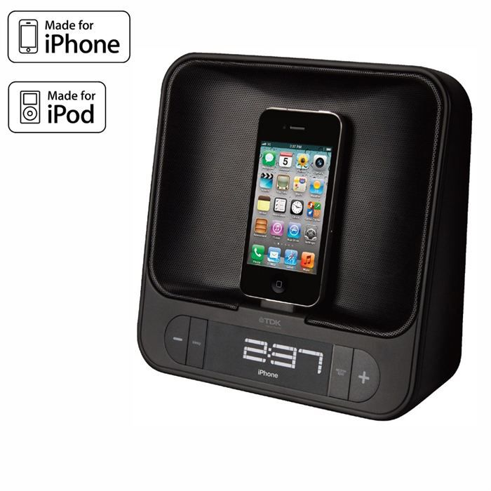 tdk tac4525 radio r veil dock ipod iphone radio r veil. Black Bedroom Furniture Sets. Home Design Ideas