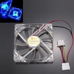 VENTILATION  LBB60523722@4-led lumière neon claire 120mm pc cas