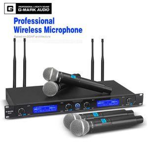 MICROPHONE - ACCESSOIRE G-MARK Système de microphone sans fil G440 Profess