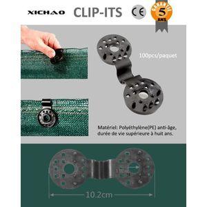CHEVILLES 100pcs Clip de Fixation Robuste Pratique Pour Bris