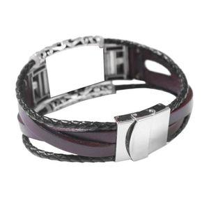BRACELET DE MONTRE Bande de montre Bracelet en cuir de remplacement p