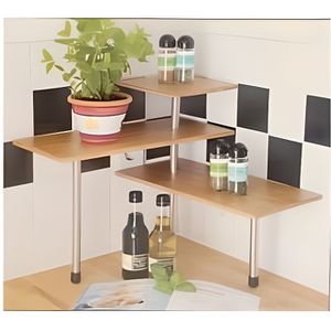 mini tag re d 39 angle en bois de bambou pour ust achat vente petit meuble rangement mini. Black Bedroom Furniture Sets. Home Design Ideas