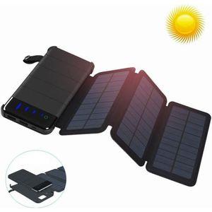 BATTERIE EXTERNE Batterie Externe Chargeur Solaire 10000mAh Portabl