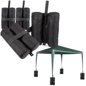 TONNELLE - BARNUM 4poids pour pieds de tonnelle, sacs de sable lest