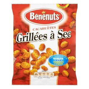 CONFISERIE DE SUCRE Bénénuts Cacahuètes Grillées 200g (lot de 10 x 3 p