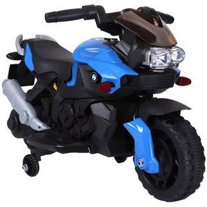 MOTO - SCOOTER Moto Electrique pour enfant - 20 W - Bleu