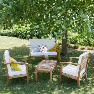Salon de jardin Bois dessus bois dessous - Achat / Vente ...