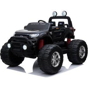 VOITURE ELECTRIQUE ENFANT EROAD - Ford Ranger Monster Truck 2 places 4X4 Noi