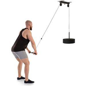 BARRE POUR TRACTION Klarfit Stronghold Station d'entraînement fitness