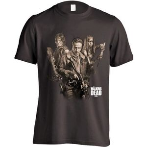 Walker Hunter Daryl Dixon Wings Mens T Shirt Walking Dead Rick Grimes